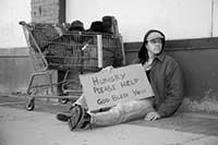 homeless image